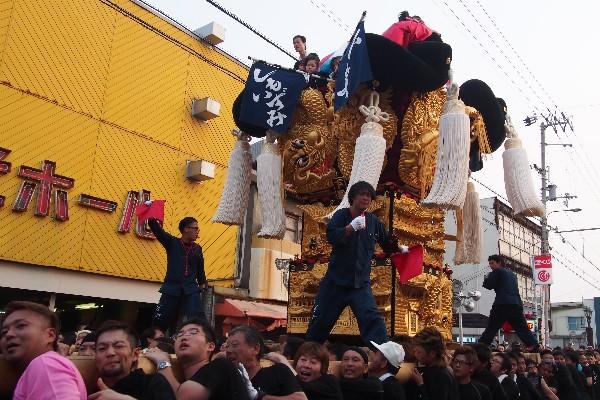 新居浜夏祭り 下泉太鼓台