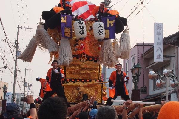 新居浜夏祭り 上原太鼓台