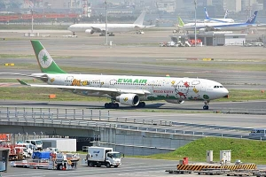 Hello Kitty Jet EVA Air BR189