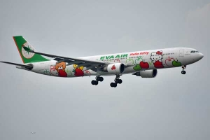 Hello Kitty Jet EVA Air BR191