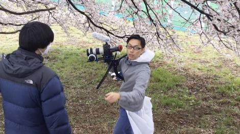 カメラマンの指示が飛ぶ