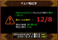 12月8日えろりなvsBRAVEHEART