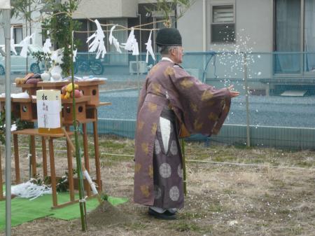 宮田邸_地鎮祭2