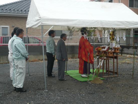 堀米駅前モデル_地鎮祭