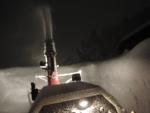 自宅前の除雪