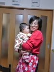 孫と婆ちゃん