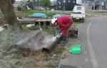 コンクリート製品の切断
