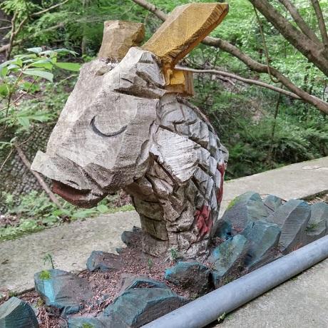 洒水の滝鯉4