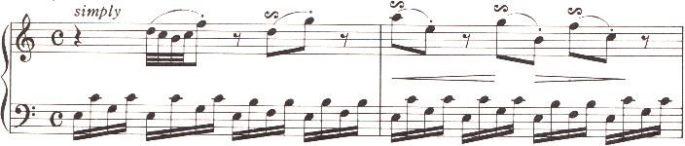 楽譜 ねじの回転 マイルズのピアノ