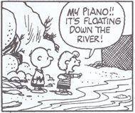 シュローダー_ピアノ(17)ボクのピアノが川に流されてゆく