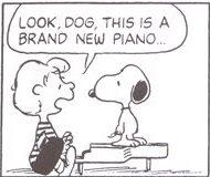 シュローダー_ピアノ(30)おい、これは新しいピアノなんだ