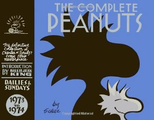 The Complete PEANUTS by Charles M. Schulz 1973 to 1974