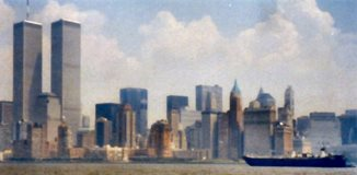 view from Hudson river New York_Olive Kirk