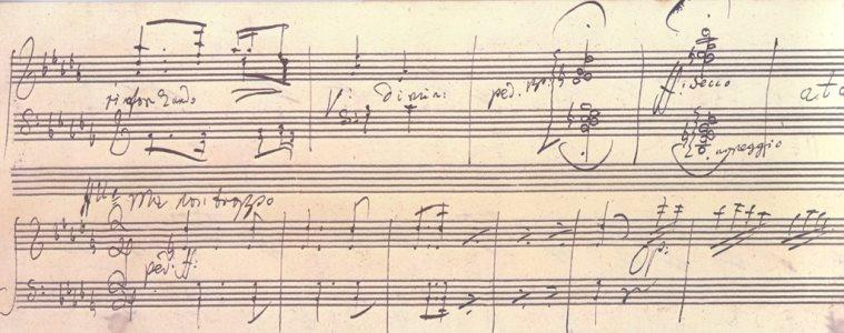 スケルツォ倶楽部_ベートーヴェン自筆「熱情 」第2~3楽章