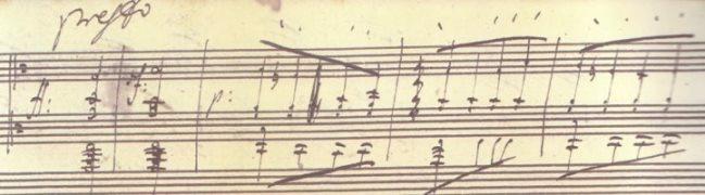 スケルツォ倶楽部_ベートーヴェン自筆「 熱情 」第3楽章コーダ(プレスト )