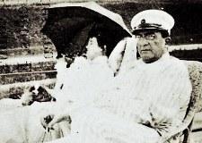 Misia et Alfred Edwards sur le pont