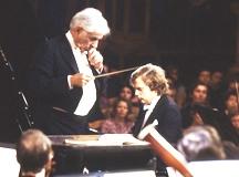シューマン ピアノ協奏曲イ短調_バーンスタイン、ウィーン・フィル_ユストゥス・フランツ(ピアノ)1984年ムジークフェラインザール(ウィーン)