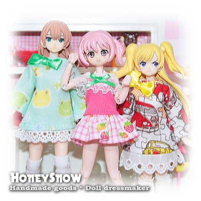 【HoneySnow】 るちゃどぉる様 5月納品分