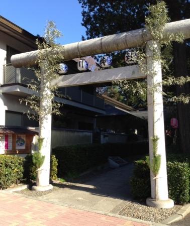 東中野氷川神社1