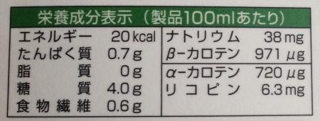 3色野菜カロリー