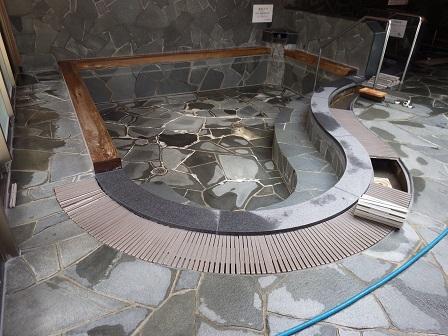 クアテルメ浴槽框ー御影石