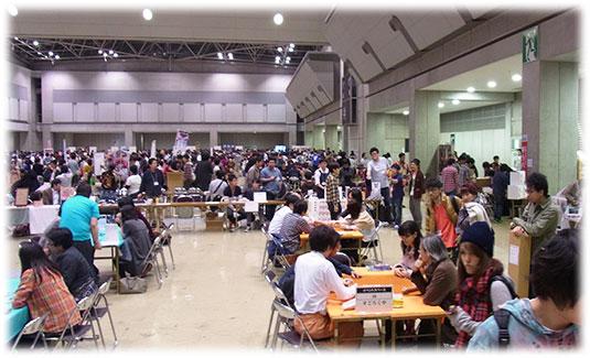 ゲームマーケット2013秋の様子