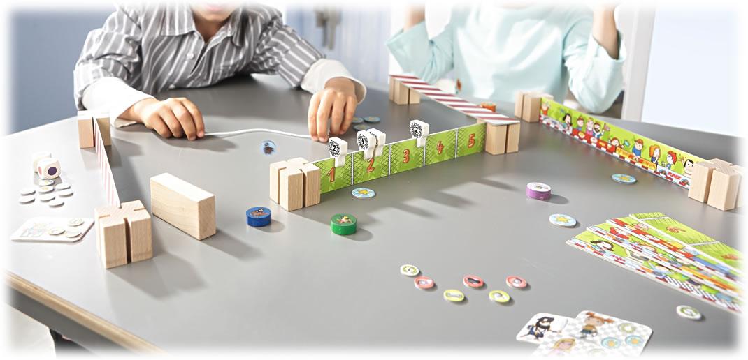 激突カップ ドンガラガッシャーン:遊戯中