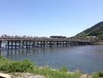 2015年京都嵐山渡月橋