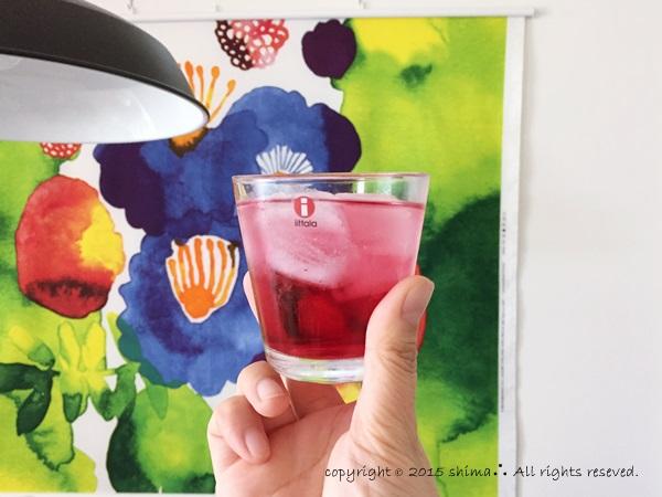 20150808梅シロップ紫蘇ジュース5