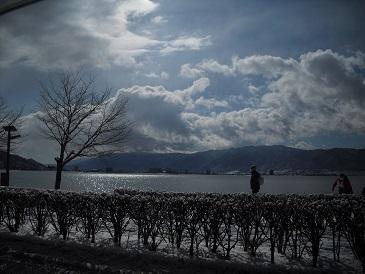 諏訪湖 20150131