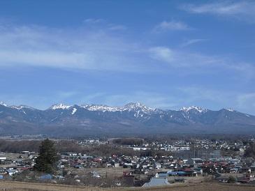 八ヶ岳20150328