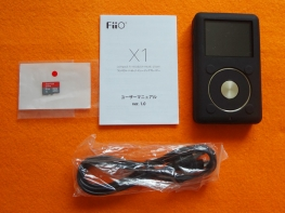 FiiO X1を購入しました [開封編]