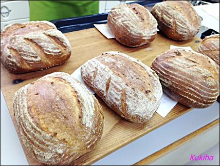 手作り教室のパンの夏期研修