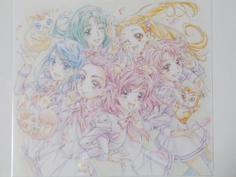 プリキュア5GoGo!BD-BOX色紙★