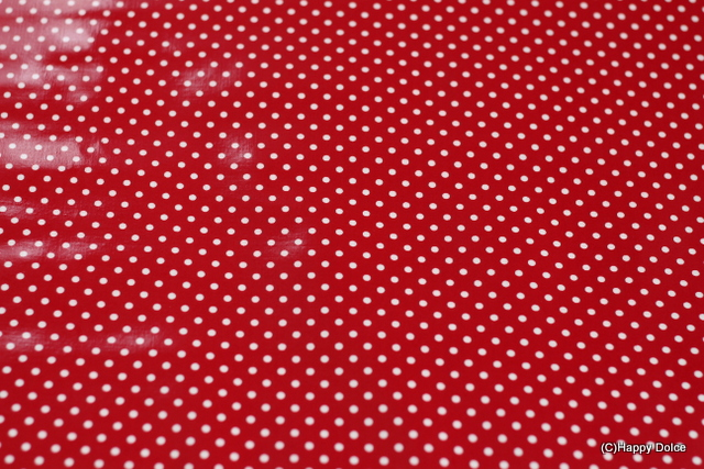 4mmドット 赤×白