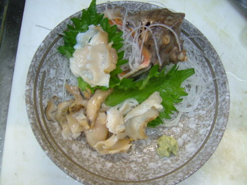 アカニシ貝