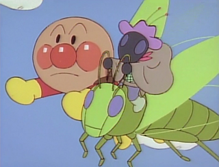 飛ぶキリギリス