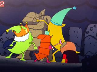 化石の魔王とクロワッサン星