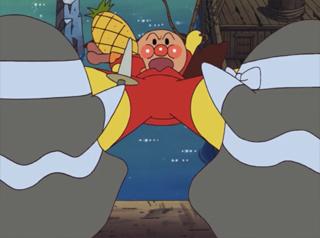 アンパンマンとバイキンかいぞく船