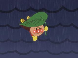 葉っぱアンパンマン