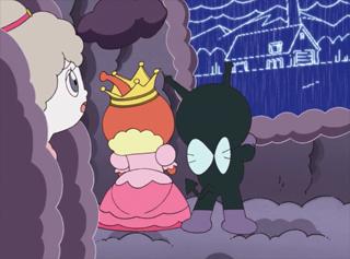 モクモク女王とアマグモラ
