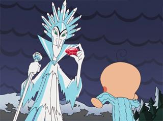 タオルくんと氷の女王