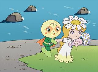 メロンパンナとマーガレット姫