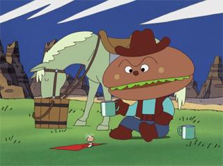ハンバーガーキッドとタンポポちゃん