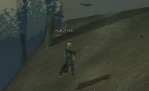 水中でも釣り可能