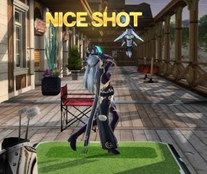 ゴルフも出来ます。