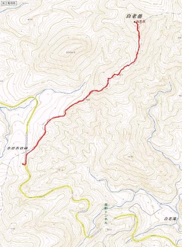 白老岳トラック 20141228