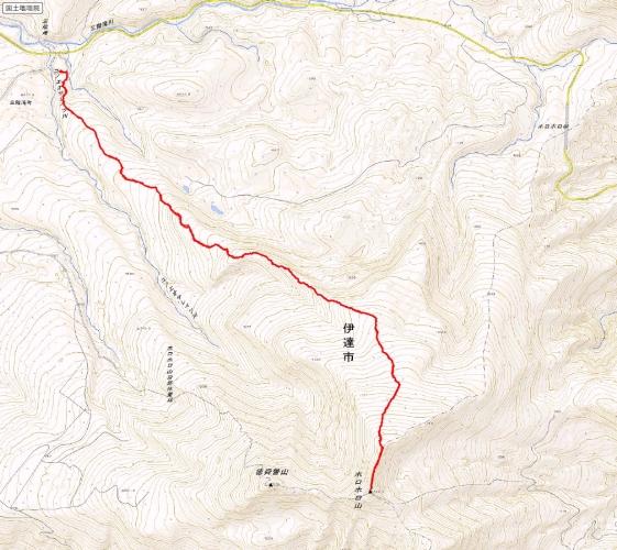 ホロホロ山 トラック20150211
