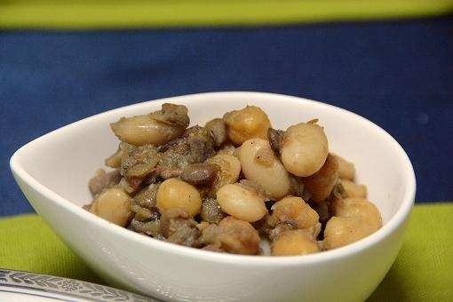 心臓の豆煮込み20150120