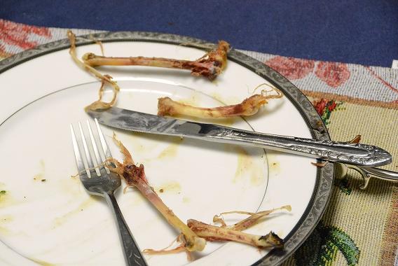 モモ肉食べ残し20150311